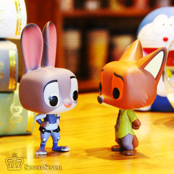 正版funko-pop迪士尼疯狂动物城狐尼克公仔