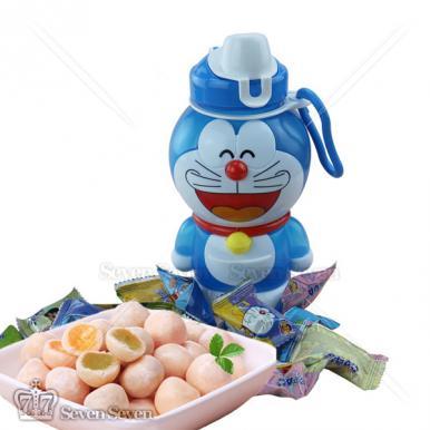哆啦A梦创意魔力杯夹心奶球糖36g