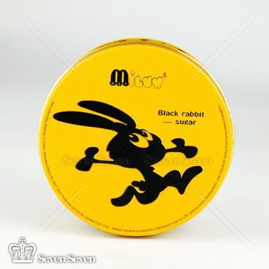 黑兔乳球脆皮软糖(圆罐)90g