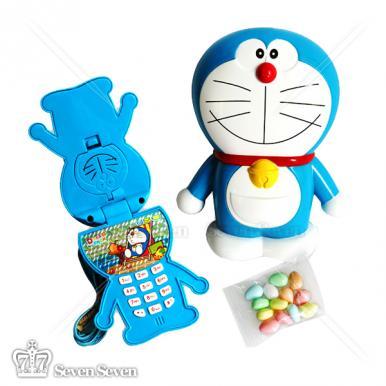 正版授权多啦A梦手机模型装糖果8g(水果味)