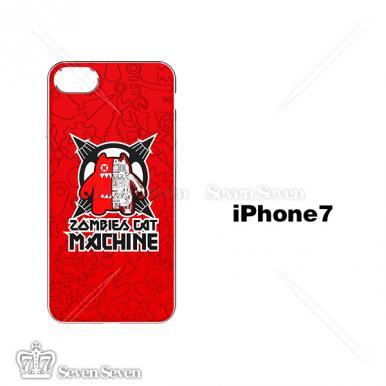官方正版魔鬼猫手机壳iphone7/8-机械魔鬼猫3号(红色)