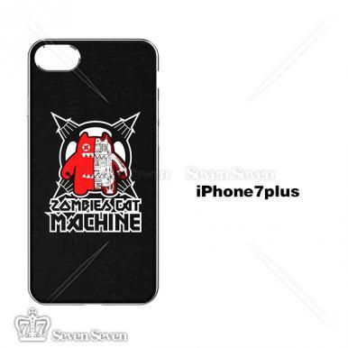 官方正版魔鬼猫手机壳iphone7/8P-机械魔鬼猫3号(黑色)
