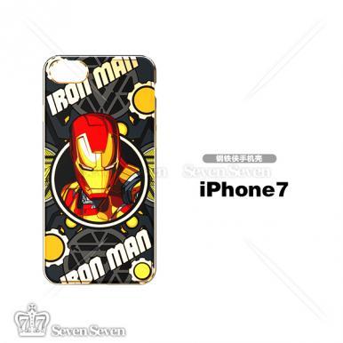 官方正版漫威电镀手机壳iphone7/8-钢铁侠