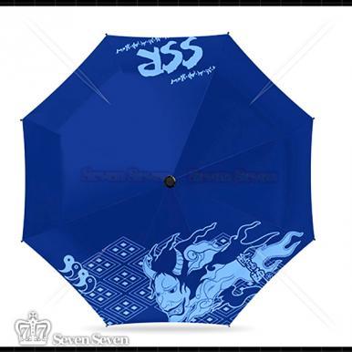 阴阳-银胶布8骨雨伞
