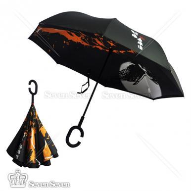官方正版射雕英雄传双层反向晴雨伞射雕款