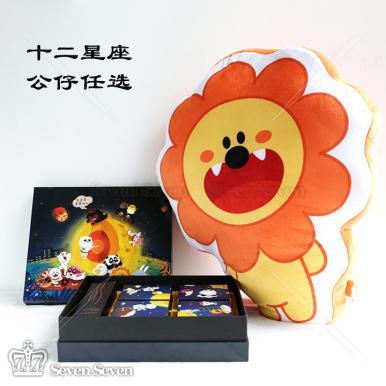 限时发售同道大叔五芳斋精制倾星物语台式月饼礼盒+毛绒公仔套盒