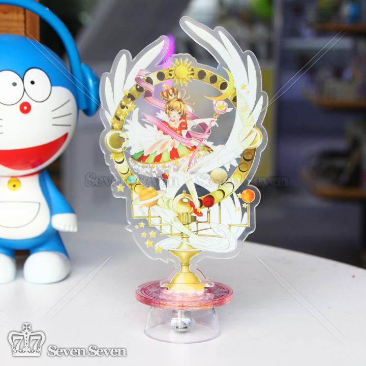 魔卡少女樱-亚克力卡通立牌彩色底座 灯15cm