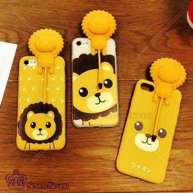 会叫狮子支架手机壳iphone7/8P