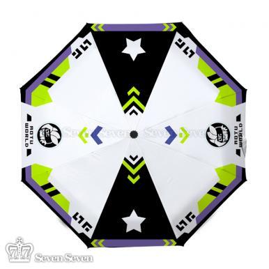 彩图防紫外线晴雨伞凹凸-格瑞