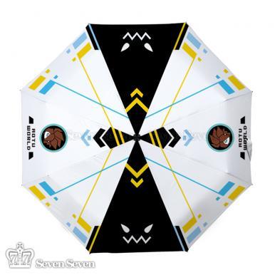 彩图防紫外线晴雨伞凹凸-安迷修