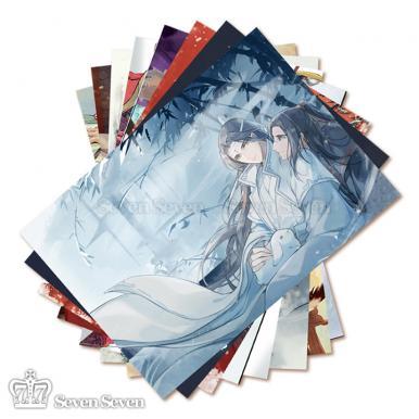 58cm压纹大海报-魔道祖师(8张/套)