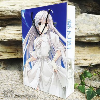 白卡纸压膜纸袋/福袋41*27.5*8.8cm-春日野穹
