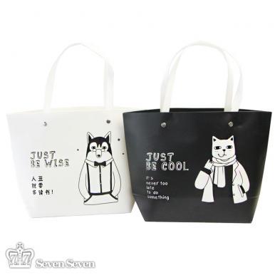 趣味猫狗-小号礼品袋2款混出