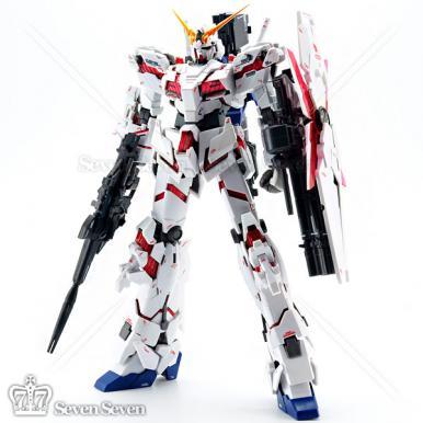 万代MG1/100 独角兽高达全装甲特别版