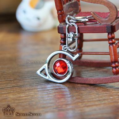 木叶施华洛宝石钥匙扣(2色)