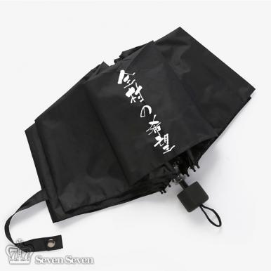 防紫外线黑胶晴雨伞-全村的希望