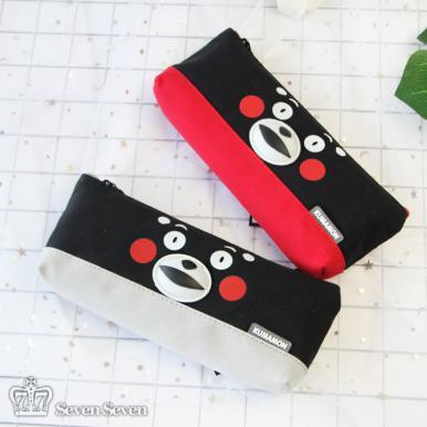 正版熊本熊简约经典船形笔袋(2款混出)