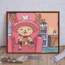 DIY数字油画+内框40*50cm-乔巴