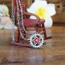 黑执士施华洛宝石项链(2色)