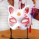 日本庙会手工绘制狐狸...