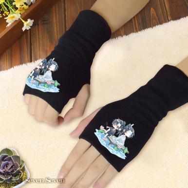 针织半指手套-魔道B