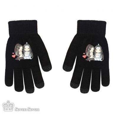 五指针织手套-魔道A