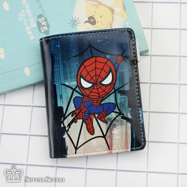 竖款带扣钱包-蜘蛛侠