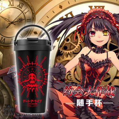 动漫随手保温杯/咖啡杯500ml-狂三