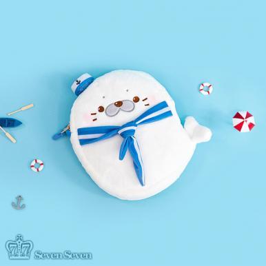 小海豹挎包-领巾海豹款