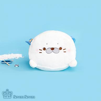 小海豹挎包-圆脸海豹款