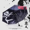 彩图防紫外线晴雨伞-...